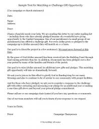 sle correspondence matching gift solicitation letter 121513