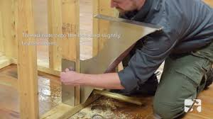 foss shower bench bracket installation youtube