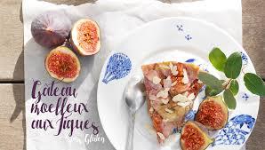 cuisiner les figues gâteau moelleux aux figues sans gluten with mint