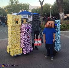 Minecraft Halloween Costume 11 Creative Group Halloween Costume Ideas