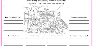 a cat u0027s christmas disaster setting description planning sheet
