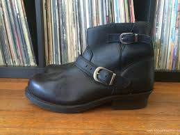 motorcycle harness boots mens boots outlet shop vintage black leather milwaukee zip up