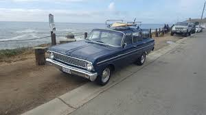 daily turismo surfboard ready 1964 ford falcon wagon