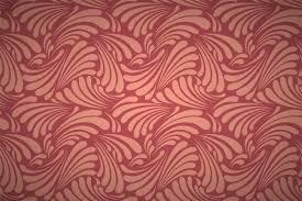 Wallpaper Patterns by Free Art Nouveau Leaf Curls Wallpaper Patterns