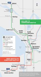 Map Of Seattle Airport by Seattle Transit Blog U2014 Covering Transit And Land Use In The