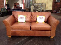 Marks And Spencer Living Room Furniture Marks Spencers Leather Sofa R R P 1849 1 Of 2 Aherns