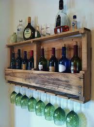 Barn Board Wine Rack Rustic Reclaimed Wood Diy Projects