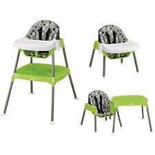 high chair converts to table and chair evenflo convertible high chair dottie lime walmart com