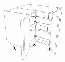 meuble bas cuisine 37 cm profondeur plateau tournant pour placard cuisine maison design bahbe meuble bas