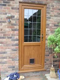 Patio Door Cat Flap by Irish Oak Upv C Door With Cat Flap Jpg