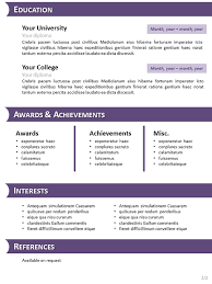 Resume Template For Openoffice Resume Templates Open Office Free Template Design