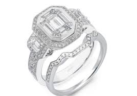 diamonds dramatic ring with band wonderful large