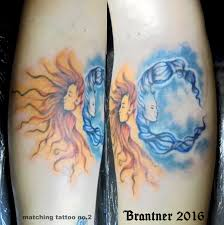 tommybrantner sun and moon 1 matching tattoos sun moon bff
