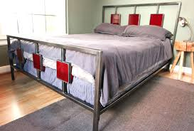 Assemble King Size Bed Frame King Size Bed Frame Metal Assembly Oak Mahogany Wooden Posts White