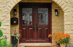 Exterior Doors Columbus Ohio 1 Panel 3 4 Lite Valencia Fiberglass Front Entry Door