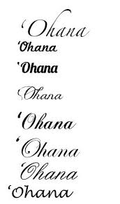 ohana tattoo fonts for men tattooic