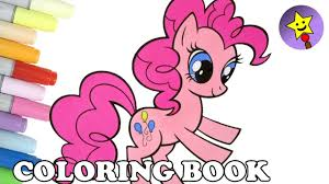 pinkie pie coloring book mlp my little pony pinkie pie coloring