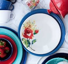 fiesta dinnerware introduces a new decorated pattern for 2017