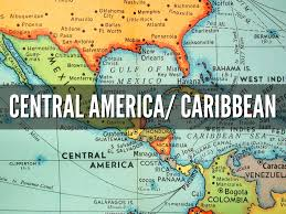 Blank Map Of Central America And Caribbean Islands by Central America And The Caribbean Islands By Breanna