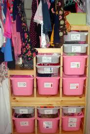 Closet Storage Bins by Storage U0026 Organization Good Diy Kids Closet Organizer With Pink
