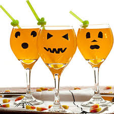 jack o lantern party glasses halloween party decorations