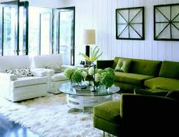 Light Green Sofa Set Living Room Forest Inspired Living Room Interior Design With