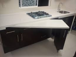 table escamotable cuisine plan de travail pivotant https fr com pin