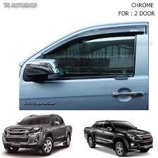 isuzu dmax 2016 chrome tailgate handle accent cover trim isuzu dmax d max ute 4x2
