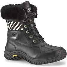 ugg s adirondack boot ii leather ugg adirondack ii boots zebra womens ugg boots womens uggs