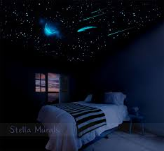 Starry Night Ceiling by Glow In The Dark Star Ceiling 400 1000 Glow Star Stickers