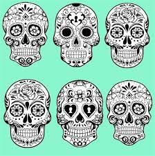 sugar skulls for a neon perhaps description