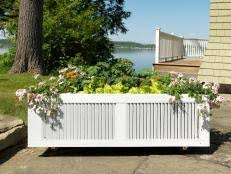 How To Build A Planter by How To Build A Wooden Planter Box How Tos Diy