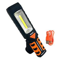 rechargeable magnetic work light nebo workbrite 2 rechargeable 220 lumen led flashlight magnetic work
