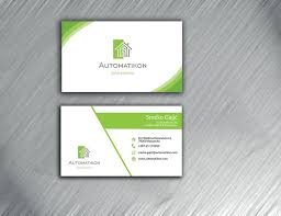 Home Graphic Design Business Entry 142 By Ibzshahin For Design Business Cards For Smart Home