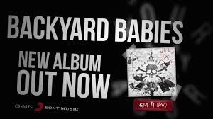 new album four by four out now backyard babies