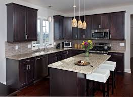 various choices of dark kitchen cabinets pictures which wood species works well with espresso stain