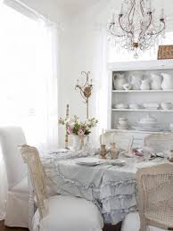 shabby chic extending dining table dining table set idea