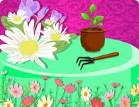 flower garden cake cooking games