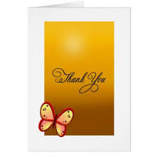 yellow butterfly golden background card personalize