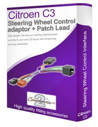 citroen c3 radio stereo wiring harness adapter lead amazon co uk