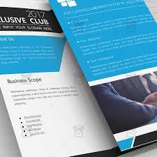 one sided brochure template corporate brochure free tri fold brochure psd template