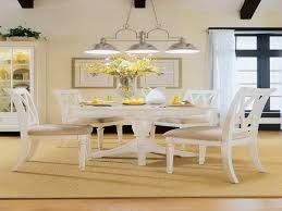 White Round Dining Room Tables Home Design Ideas - Ohana white round dining room set