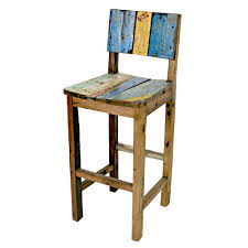 Pallet Furniture Bar Ecologica Furniture Reclaimed Wood Bar Stool By Ecologica