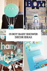 baby shower tableware 35 boy baby shower decorations that are worth trying digsdigs