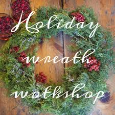 r love floral holiday wreath class