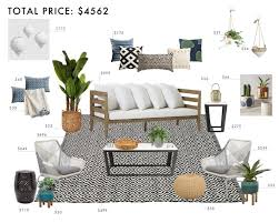 What Is An Indoor Outdoor Rug by How To Decorate Your Outdoor Space With All Target Emily Henderson