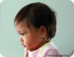 baby hoop earrings baby ear piercing my takes earrings whispered