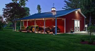 Barn Kits Oklahoma Pole Barn House Plans Houzz Barn And Porch