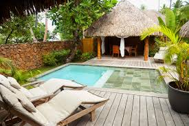 resorts that offer private plunge and swimming pools