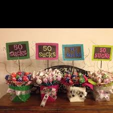 50 birthday party ideas clever centerpiece ideas for milestone birthdays use these